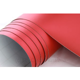Red Matt Pearl Auto Vinyl Wrap Car Decal Film - 10M x 152cm