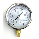 Fuel Pressure Gauge (psi)- Side Port