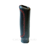 300ZX Z32 Handbrake Handle Grip Leather Nissan Fairlady - RED Stitch