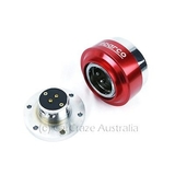 Sparco Universal Quick Release Steering Wheel Hub Rally - RED